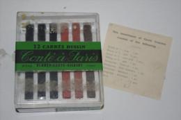 BOITE BLANZY CONTE GILBERT PARIS De 12 CRAYONS CARRES à DESSIN N°245 - Penne