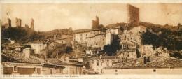 édition Chocolaterie Cantalou Catala - Dauphiné - Bourdeaux - Vue D'ensemble Des Ruines - Vieux Papiers