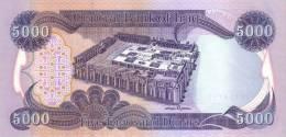 IRAQ P. 94c 5000 D 2010 UNC