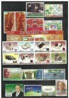 PAKISTAN 2014 MNH FULL YEAR PACK AIR FORCE, ARMY,SCOUT,MOENJODERO STAMPS AND SOUVENIR SHEER ,GEMS AND MINERALS.