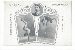 11207 -   Cirque Orèval L'imcomparable Contorsionniste Equilibriste - Cirque