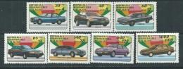 Madagascar N° 1137 / 43  XX Automobiles Modernes, Les 7 Valeurs Sans Charnière, TB - Madagascar (1960-...)