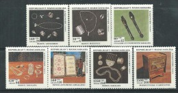 Madagascar N° 1324 / 30  XX  Artisanat Malgache, Les 7 Valeurs Sans Charnière, TB - Madagascar (1960-...)