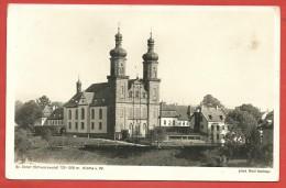 CARTOLINA NV GERMANIA - St. Peter Schwarzwals - Kirche - Monastero - 9 X 14 - St. Peter