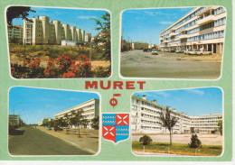 MURET   Patrie Du Maréchal Niel Et De Clément Ader  Nouveau Quartier Avenue Europa (Viaggiata) Multivue - Francia
