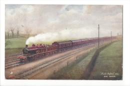 11217 -   Leeds Express M.R. Near Hendon Train Vapeur - Trains