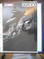 Yamaha FJ 1200 4 Pagine Depliant Originale Rare Factory Original Brochure Prospekt - Motor Bikes