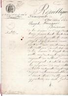 Reconnaissance De Dette De 1892, St Marc D'Ouilly, PESCHET, , FERTE, Segrie Fontaine, 6 Pages - Manuscrits
