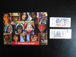 Belgi� Belgium Brasil 2011  joint issue Europalia Brasil gemeenschappelijk uitgifte - Complete series Belgium + Brasil