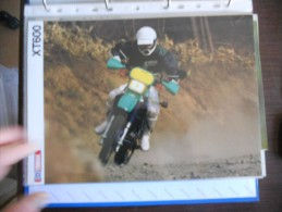 Yamaha XT 600 Depliant Originale Rare Factory Original Brochure Prospekt - Motor Bikes