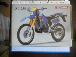 Yamaha DT 125 R Depliant Originale Rare Factory Original Brochure Prospekt - Motor Bikes