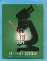 SANTE-Sécurité  Sociale-carte Détachable Pour Examen De Santé-années 50 - Santé