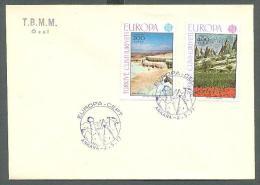 1977 TURKEY EUROPA CEPT LANDSCAPES FDC - Europa-CEPT