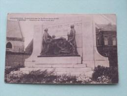Gedenkteeken Aan De Dendermondsche Helden - Dendermonde Termonde / Anno 1927 ( Zie Foto Details ) !! - Dendermonde