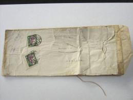 1929, Musterbeutel  Aus Riga  Nach  Deutschland - Lettland