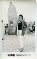 "MUJER WOMAN DONNA FASHION VINTAGE STYLE  ""CASA FOTO ROYAL"" MAR DEL PLATA, ARGENTINA AÑO ANNÉE 1961 GECKO - Mode"