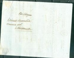 LAC   De Chatellerault,pour Chatelleraut ( Courrier Administratif) Entete Revolutionnaire Le 26 Fructidor An 09 MALB0106 - Marcophilie (Lettres)