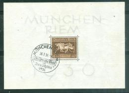 Block Yvert N°6 Oblitéré Munchen 26/07/1936 MALB0203 - Deutschland
