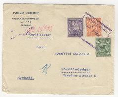 Bolivien Brief 1932