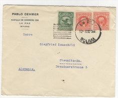 Bolivien Brief