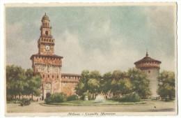 Carolina Illustrata  - Milano- Castello Sforzesco - - Milano (Milan)