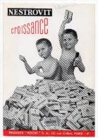 "Buvard - Nestrovit Croissance - Produits ""Roche"" Rue Crillon Paris 4e (Laboratoires) - Produits Pharmaceutiques"