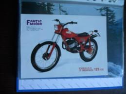 Fantic Motor Trial 125 Depliant Moto Originale Rare Factory Original Brochure Prospekt - Motos