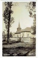 CP Broekom - De Kerk - Carte Photo - Eglise - Limbourg - Borgloon