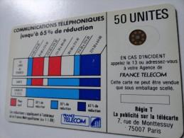 RARE :CORDONS BLEU COURONNE ÉVIDÉE TÉLÉCARTE 50 U SC4ON ENT. NR 107550 - Variëteiten