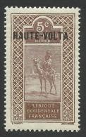 Burkina Faso, Upper Volta, 5 C. 1922, Scott # 5, MH - Upper Volta (1920-1932)