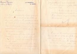 """Autographes Granier Jeanne """" Le Trousseau Du Gosse"""" Programme - Autographes"""