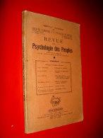 Revue De Psychologie Des Peuples N°3 1955 Normand..Flamand De France..ethnotype Libanais..institut Havrais - Cultura