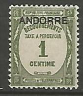 ANDORRE    N� 9  NEUF** TB