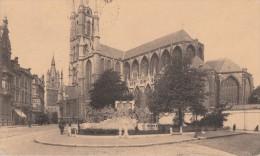 GAND - GENT (Belgique) - CPA - Cathédrale Saint-Bavon Et Monument Des Frères Van Eyck - Postée De Gent En 1925 - Haaltert