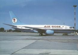 AIR ROSE, Boeing-737-7L9, Unused Postcard [15318] - 1946-....: Moderne