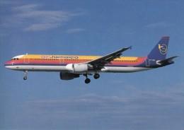 AIR JAMACIA, A321-211, Unused Postcard [15330]
