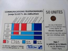 RARE : DÉCALAGE SUR CORDONS BLEU 50U SC5OR FOND NOIR NR 107405 - Variëteiten