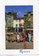 35 - RENNES - LE MARCHE PLACE SAINT MICHEL - MAGASIN LE LOCH NESS- LE BIRDY - Rennes