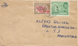 Ghana 1959 Aboso A Nkrumah Fish Eagle Cover - Ghana (1957-...)