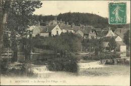 MONTIGNY (sur-LOING) - Le Barrage Et Le Village - Autres Communes