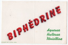 Buvard - Biphédrine - Aqueuse - Huileuse - Pénicilline (pharmacie) - Drogheria