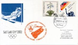 Vol Spécial Lufthansa Francfort Salt Lake City - 03/02/02 - équipe Olympique Allemagne - Winter 2002: Salt Lake City