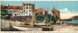 édition Chocolaterie Cantalou Catala - Bretagne - Le Conquet - Le Port Et L'ancien Château Des Seigneurs - Vieux Papiers