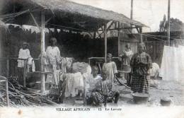 Cpa Village Africain  ( 13 )  Le Lavoir - Sudan