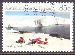 Australian Antarctic Territory 1984 SG #75 85c VF Used Landing Field - Used Stamps