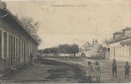 Lot N°27410    Carte De PLESSIS-BRION, La Plcace - France