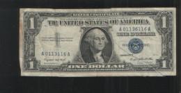 USA 1  DOLLAR 1957 A  SILVER CERTIFICATE - Silver Certificates (1928-1957)