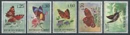 1963 SAN MARINO FARFALLE E FIORI MNH ** - RSM - San Marino