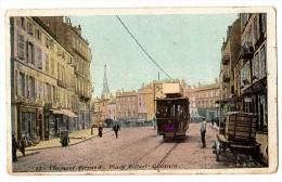 Clermont Ferrand, Place Gilbert Gaillard, Tramway, Attelage - Clermont Ferrand