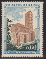 MONACO 1968 Subiaco Abbey (YT 748 ; Mi 894 ) MNH** - Klöster